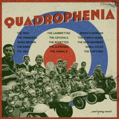 album artwork, mod, quadrophenia, personal work, music