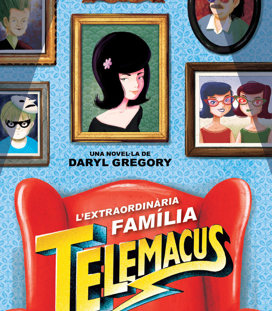 Telemacus The Spoonbenders illustration © Violeta Serratosa. All rights reserved